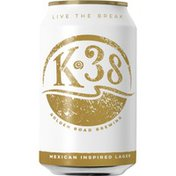 Golden Road Brewing K-38 Clara Mexican-Style Lager Beer Can