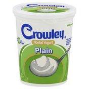 Crowley Yogurt, Nonfat, Plain