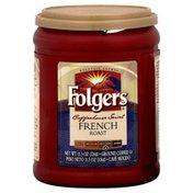 Folgers Coffee, Ground, French Roast, Med-Dark