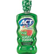 ACT Flouride Rinse, Alcohol Free, Anticavity, Wild Watermelon