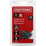 Craftsman Saw Chain, Low Kickback, 18 Inch