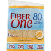 Fiber One Wraps Honey Wheat