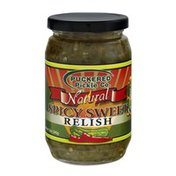 Puckered Pickle Co. Co. Natural Spicy Sweet Relish