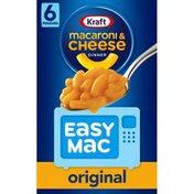Kraft Original Macaroni & Cheese Microwavable Dinner