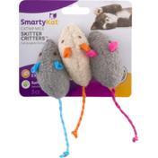 SmartyKat Catnip Mice Skitter Critters