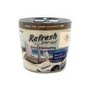 Refresh Your Car New Car & Cool Breeze Scented Gel Can Air Freshner