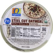 O Organics Steel Cut Oatmeal, Organic, Maple Vanilla
