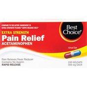 Best Choice Non-Aspirin Rapid Release Gelcaps