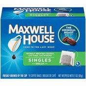Maxwell House The Original Roast Decaf Coffee Singles