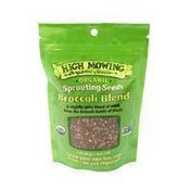 High Mowing Organic Broccoli Blend Sprouting Seeds