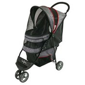 Gen7 Pets Gray Shadow Regal Plus Pet Stroller
