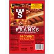 Bar-S Bun Length Franks