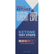 Real Ketones Test Strips, Ketone