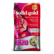 Solid Gold Nature's Harmony Antioxidant Blend Chicken, Peas & Potato Recipe Holistic Food For Cats & Kittens