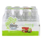Nature's Promise Unsweetened Water Beverage Watermelon - 12 PK