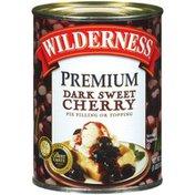 Wilderness Premium Dark Sweet Cherry Pie Filling Or Topping