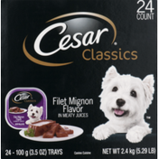 CESAR Filet Mignon Classic Loaf in Sauce Dog Food