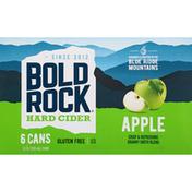 Bold Rock Hard Cider, Apple, 6 Pack