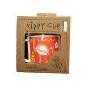 Sugarbooger Flamingo Sippy Cup