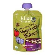 Ella's Kitchen Organic 7 Months Vegetable Bake with Lentils