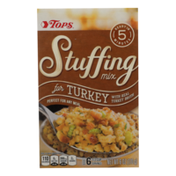 Tops Stuffing Mix For Turkey With Real Turkey Broth