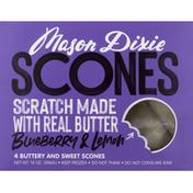 Mason Dixie Scones, Blueberry & Lemon