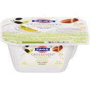 FAGE Crossovers Olive Thyme Blended with Roasted Almonds Low-Fat Greek Strained Yogurt