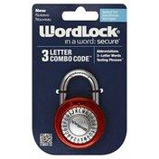 Word Lock Lock, 3 Letter Combo Code