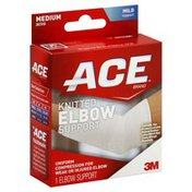 Ace Bakery Elbow Support, Knitted, Mild Support, Medium