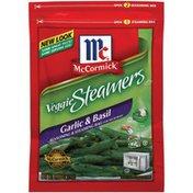 McCormick® Veggie Steamers Garlic & Basil Seasoning & Steaming Bag