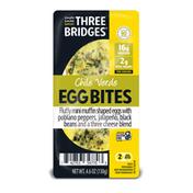 Three Bridges Chile Verde Egg Bites