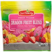 Our Family Dragon Fruit Blend, Fresh Frozen