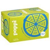 Poppi Prebiotic Soda, Lime Ginger