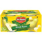 Del Monte Diced in Heavy Syrup Pears