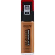 L'Oreal Foundation, Sunscreen, Hazelnut 510, Broad Spectrum SPF 25