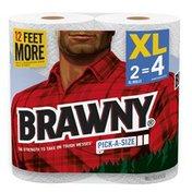 Brawny Pick-A-Size® Paper Towels, 2XL Rolls