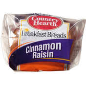 Country Hearth Breads, Cinnamon Raisin, Breakfast