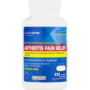 CareOne Arthritis Pain Relief, 650 mg, Caplets