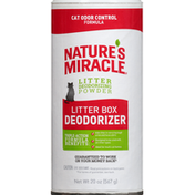 Nature's Miracle Litter Box Deodorizer, Cat Odor Control Formula