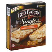 Red Baron Pizzas, French Bread, Extra Cheese