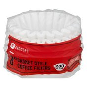 """Southeastern Grocers 8 """" Basket Style Coffee Filters - 200 CT"""