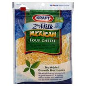 Kraft Shredded Cheese, Mexican Style Four Cheese