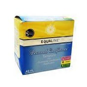 Equaline Personal Confidence Tampons w/ Cardboard Applicator Multi Pack