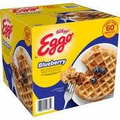 Eggo Frozen Waffles, Frozen Breakfast, Blueberry