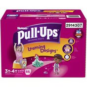 Pull-Ups Learning Designs 3T-4T Girls Training Pants