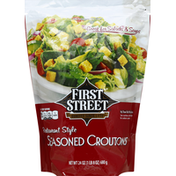First Street Seasoned Croutons, Restaurant Style