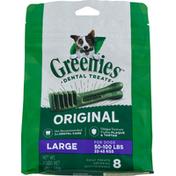 GREENIES Dental Treats, Original, Large