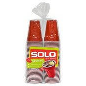 Solo Red Squared® Plastic Cups