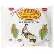 El Milagro Tortillas, Corn, Original