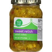 Food Club Sweet Relish, Salad Cubes